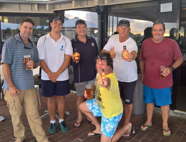 RumRunner winners, Friday 10 Feb 17. Credit Suzanne Arms